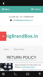 BigBrandBox- screenshot thumbnail