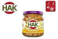Angebot für HAK Kichererbsen im Glas im Supermarkt - Hak