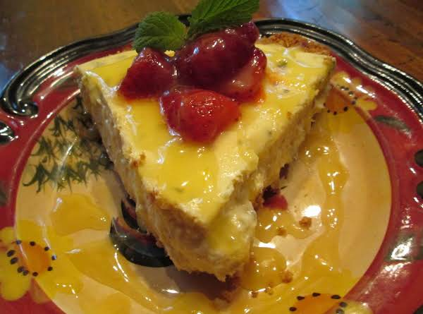 Lemon Balm Cheese Cake Recipe