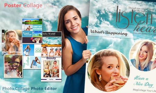 Poster Photo Collage Editor  screenshots 9
