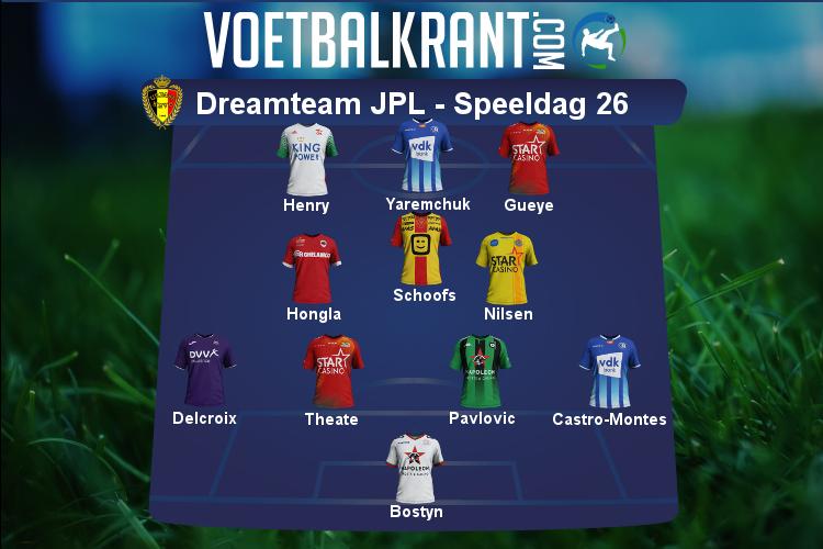 Team van de week Speeldag 26