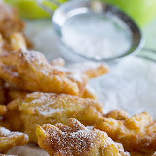 Cinnamon Apple Fritter