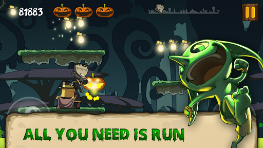 Halloween Running - screenshot