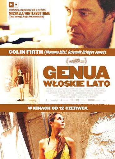 Polski plakat filmu 'Genua. Włoskie Lato'