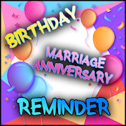 Birthday Anniversary Reminder - Birthdays Reminder