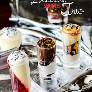 Dessert Shooter Trio
