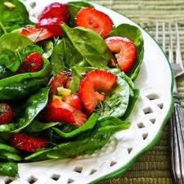 Spinach Strawberry Salad Recipe
