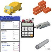 Construction Calculator(Steel,Concrete,Bricks etc)
