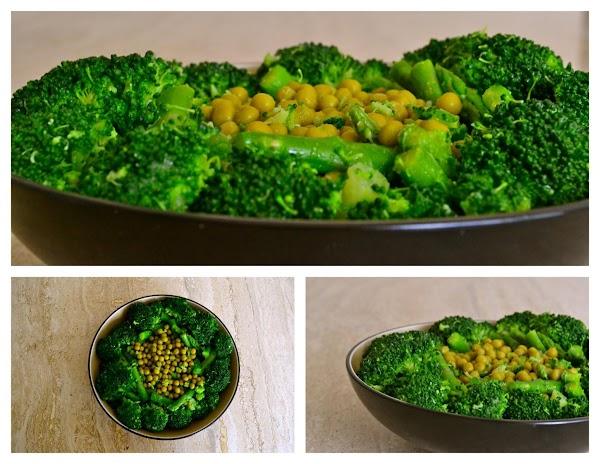 Green Veggie Salad Recipe