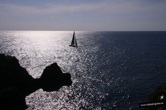 Photo: Atardecer en el Faro Punta Nati... Menorca, España.
