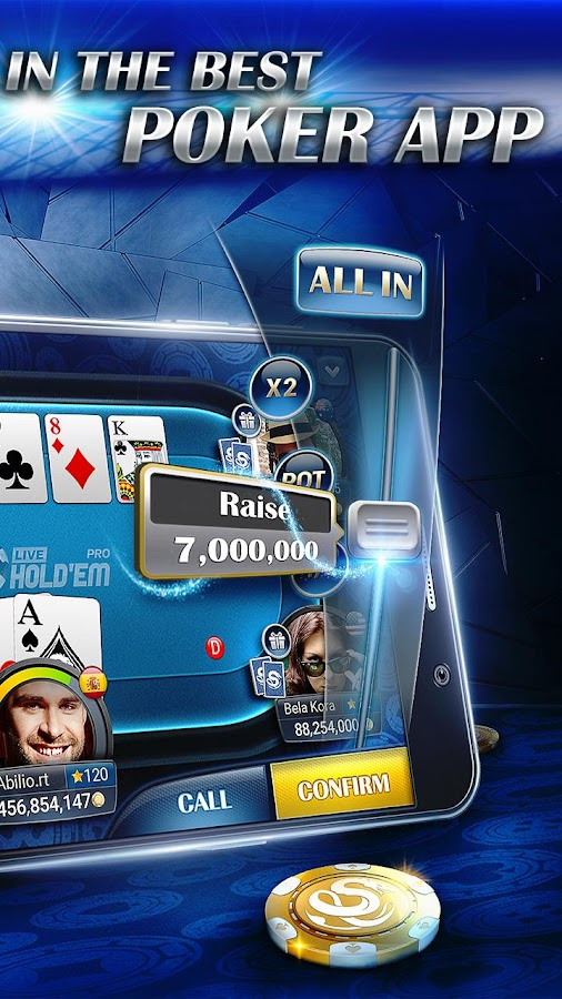 Live Hold'em Pro Poker - Free Casino Games- screenshot