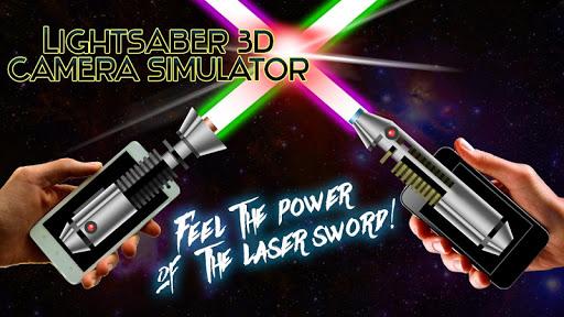 Lightsaber 3D Camera Simulator