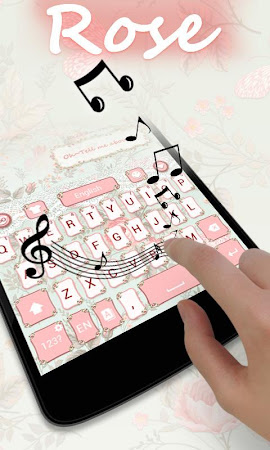 Rose GO Keyboard Theme & Emoji 4.15 screenshot 2088600
