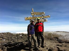 Photo: On the summit!