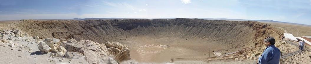 Photo: Meteor Crater in Arizonia