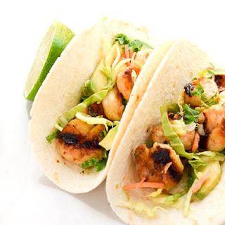 Honey Lime Shrimp Tacos.