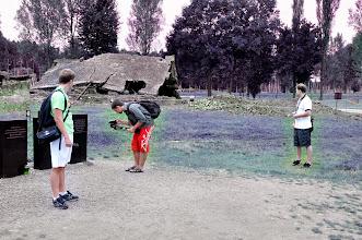 Photo: Druhá návštěva osvětimského koncentračního tábora v Polsku za účelem natáčení (neděle 28. srpen 2011).