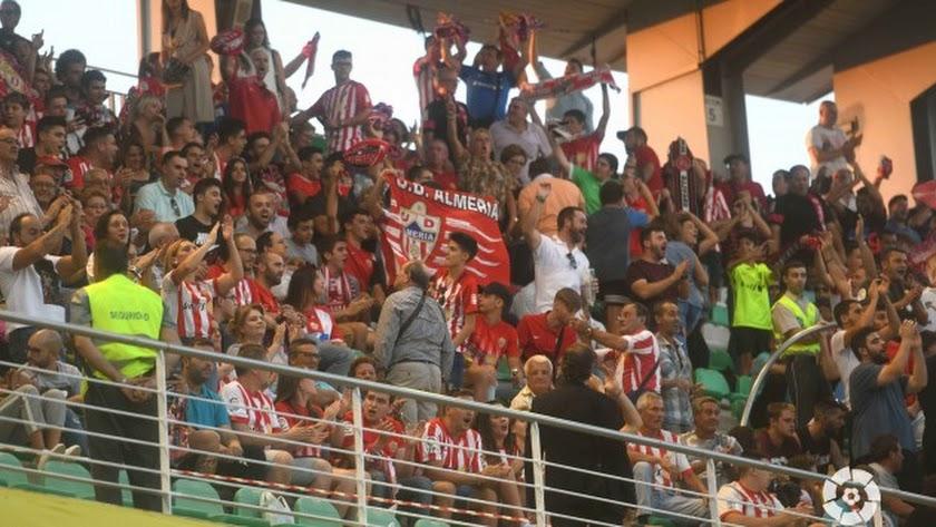 El Almería no estará solo en el Wanda Metropolitano.