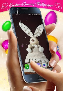 Easter Bunny Live Wallpaper - náhled