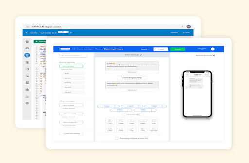 Cloud-based chatbot CMS for enterprises preview