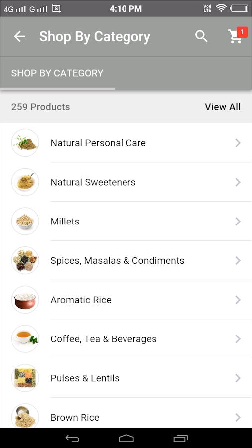 ekgaon – Shop Direct from Farm- screenshot