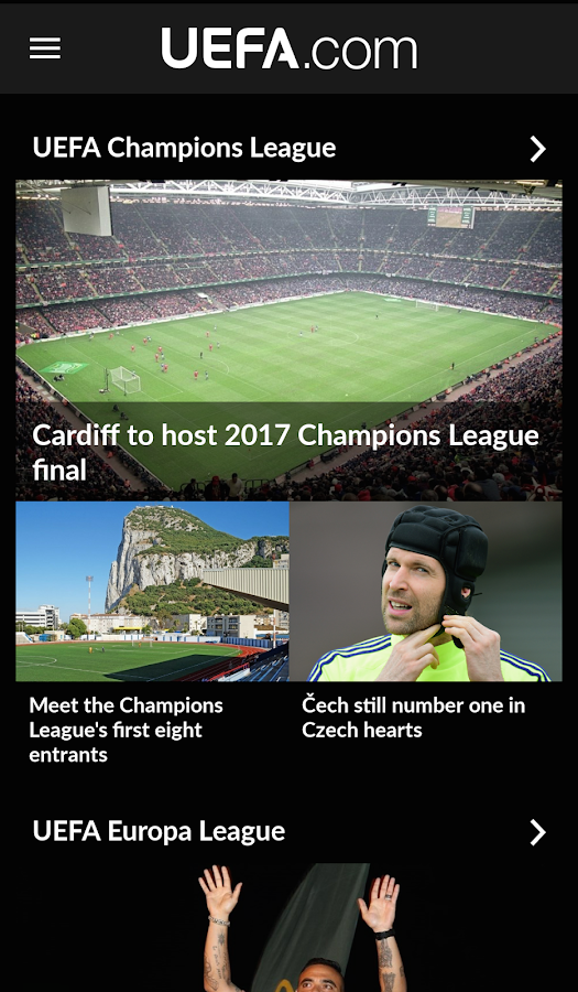 UEFA.com - screenshot