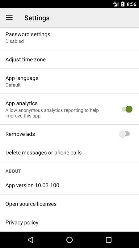 SMS Backup & Restore screenshots
