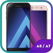 Theme for Galaxy A5 A7 2018