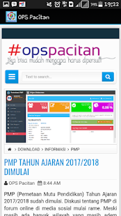 OPS Pacitan- screenshot thumbnail