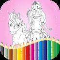 Princess Coloring Book Games icon