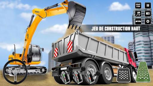Code Triche ville construction sim: chariot u00e9lu00e9vateur camion APK MOD screenshots 1