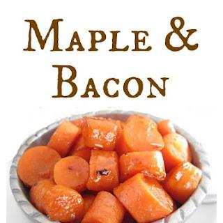 Maple & Bacon Glazed Carrots