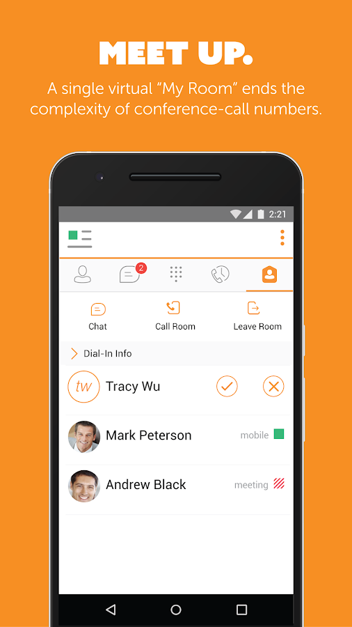 UC-One Communicator- screenshot