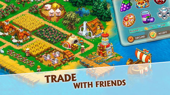 Harvest Land: Farm & City Building 4