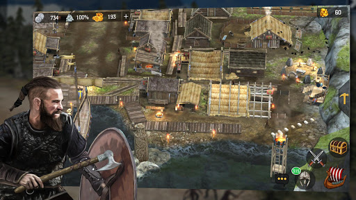 Vikings at War  άμαξα προς μίσθωση screenshots 1