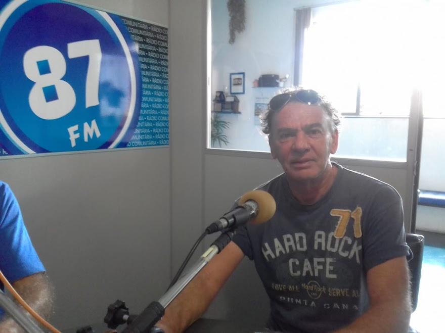 João Carlos Prosperi, professor de tênis do Guaxupé Country Clube