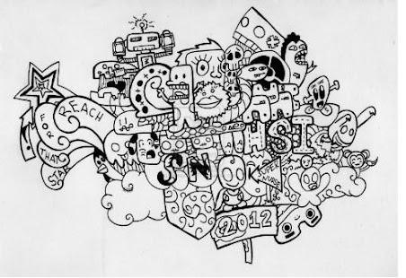Artistic Doodle Art Name - náhled