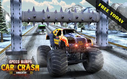 Crazy Speed Bumps Car Crashing Simulator - Beam NG Apk 1.1 ...