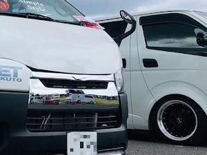 ハイエース TRH200V SUPER GL 2018年式のカスタム事例画像 keiji@黒バンパー愛好会さんの2021年07月27日16:25の投稿