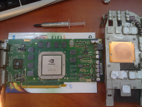 Photo: Time to put it all together with new thermal paste