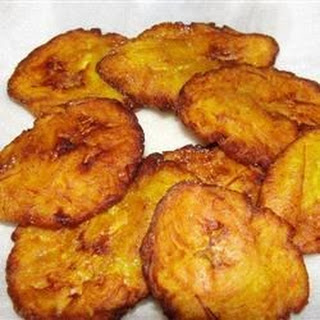 Tostones (Fried Plantains).