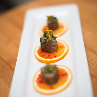 Lamb with Candied Orange and Olive Tapenade (Food Shoot Feature)