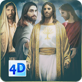 4D Jesus Christ Live Wallpaper