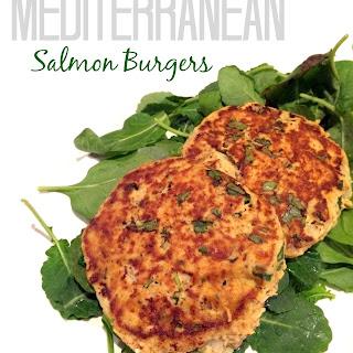 Mediterranean Salmon Burgers Recipe
