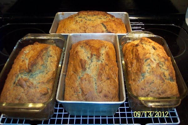 Pour batter into the prepared pans. Bake  8 inch pans for 1 hour. Bake 9...