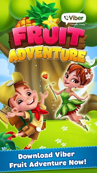 Viber Fruit Adventure v1.62.0 [Mod]
