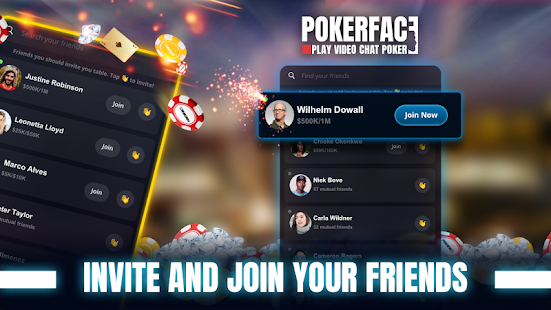 Game Poker Face: Texas Holdem Poker With Your Friends APK for Windows Phone