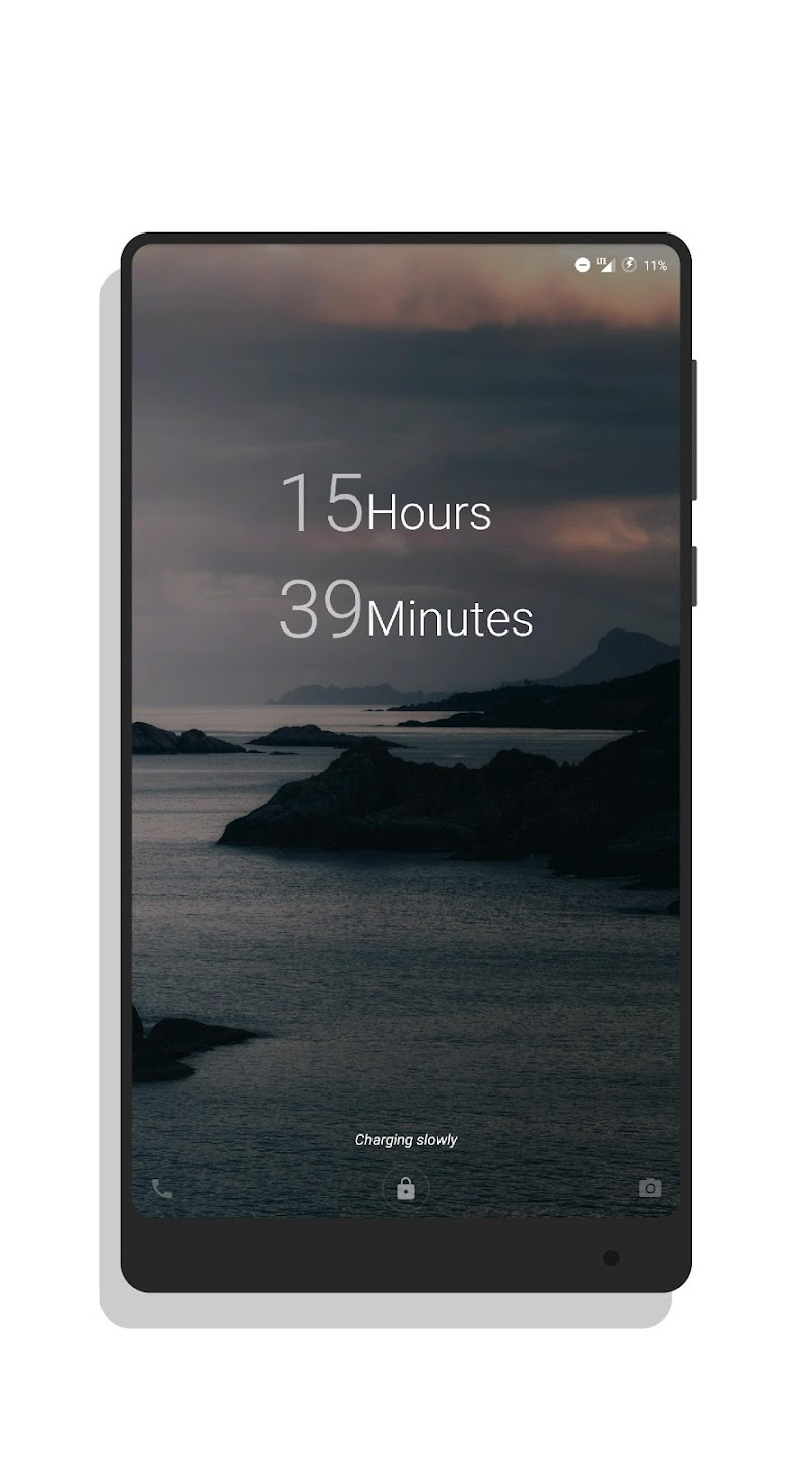 MNML Digital Clock Mods [Substratum] Screenshot 12