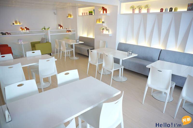 台中西區早午餐、下午茶,妃彤巧可咖啡館-2