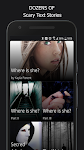 screenshot of Free and Scary Chat Stories - Gripped on Texts